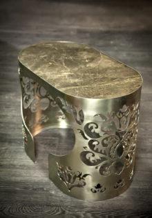 Kofejnyj stolik 40 x 70 nozhki iz nerzhaveyushhej stali 220x316 - ROCK BROWN