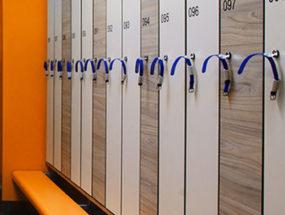 Шкафчики для фитнесов, раздевалок (локеры)