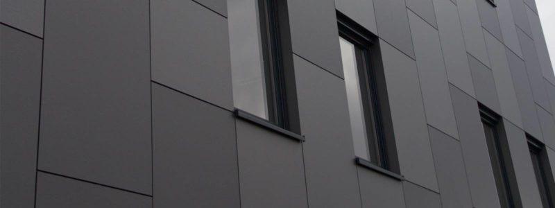 Trespa exterior - Hesbaye Frost. Бельгия (Trespa Meteon)