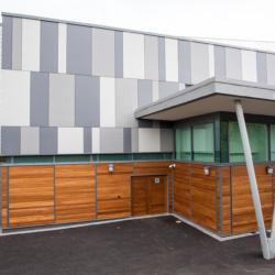 Swisspearl экстерьер - Foyle Arena