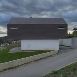 Swisspearl экстерьер - Дом GV 17