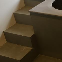 Hibeton interior - лестница из бетонных панелей