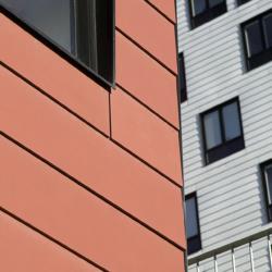 Swisspearl exterior - Маргаретные жилые башни