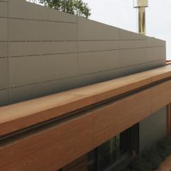 Swisspearl exterior - Частный жилой дом