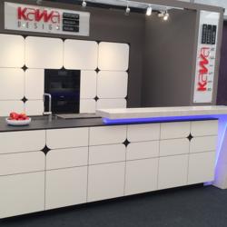 SwissCDF interior - KAWA выставочная кухня
