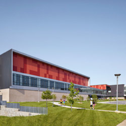 Swisspearl exterior - Joplin High School
