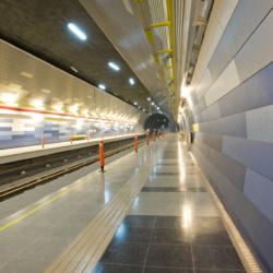 Swisspearl exterior - Станция метро
