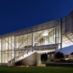 Swisspearl exterior - Приемный центр МГУ Дэвиса Харрингтона, Государственный университет штата Миссури