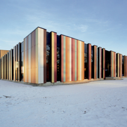 Swisspearl exterior - Международная школа Осло