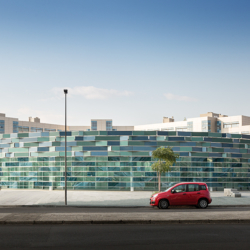 Swisspearl exterior - Ospedale del Mare