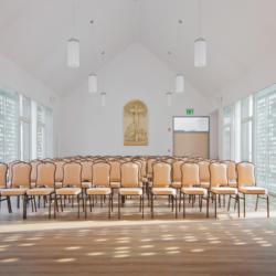 Swisspearl exterior - Приходская церковь Небесной Королевы