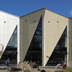 Swisspearl exterior - Спортивный зал