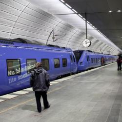 Swisspearl exterior - Железнодорожная станция Triangeln