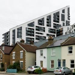 Rieder Architecture — Площадь Святого Марка. Бромли юг. Лондон. Великобритания