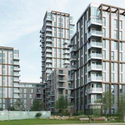 Rieder Architecture — Woodberry down блок f. Лондон. Великобритания