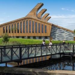 NBK. TERRART® — Центр GSK в Университете Ноттингема. Ноттингем. Великобритания (Clad)