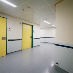 FunderMax interior - Швацкая региональная больница. Австрия. (Star Favorit Superfront 0.5)