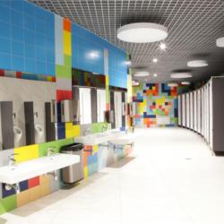 HPL и CDF — Цирк в Казани. Россия (перегородки)