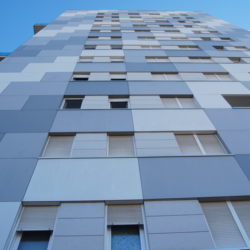 FunderMax exterior - Torre Europa. Испания (Max Compact Exterior, Max Compact Universal)