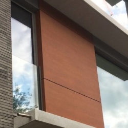 Trespa exterior - Вилла Borgeind. Бельгия (Trespa Meteon)