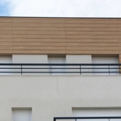Trespa exterior - Апартаменты Рони-Сюр-Сена. Франция (Trespa Pura NFC)