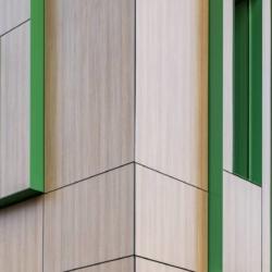 Trespa exterior - Детский Сад Хедлунда. Умео. Швеция (Trespa Meteon)