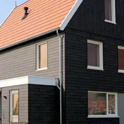 Trespa exterior - Дом Лоренцо. Зволле. Нидерланды (Trespa Pura NFC)