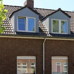 Trespa exterior - Мансардные окна Хеерлен. Нидерланды (Trespa Izeon)