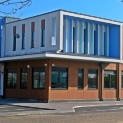 Trespa exterior - Школа Де Райз. Лондон. Великобритания (Trespa Pura NFC)