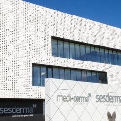 Trespa exterior - Штаб Sesderma. Валенсия. Испания (Trespa Meteon)