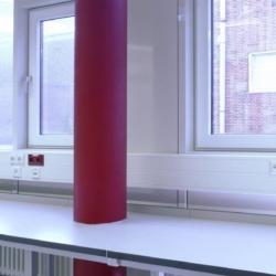 Trespa interior — Университетская Лаборатория Кристиана Альбрехта. Киль. Германия (Trespa TopLab Plus)